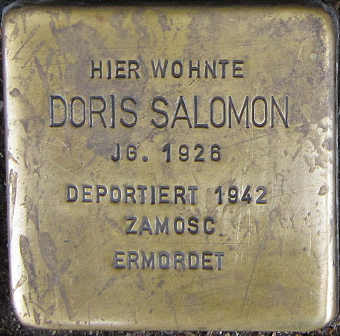 get new new lower prices cheaper Datei:Stolperstein Siegen Salomon Doris.jpeg – Wikipedia