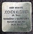 Stolperstein Teutonenstr 23 (Nikol) Jochen Klepper.jpg