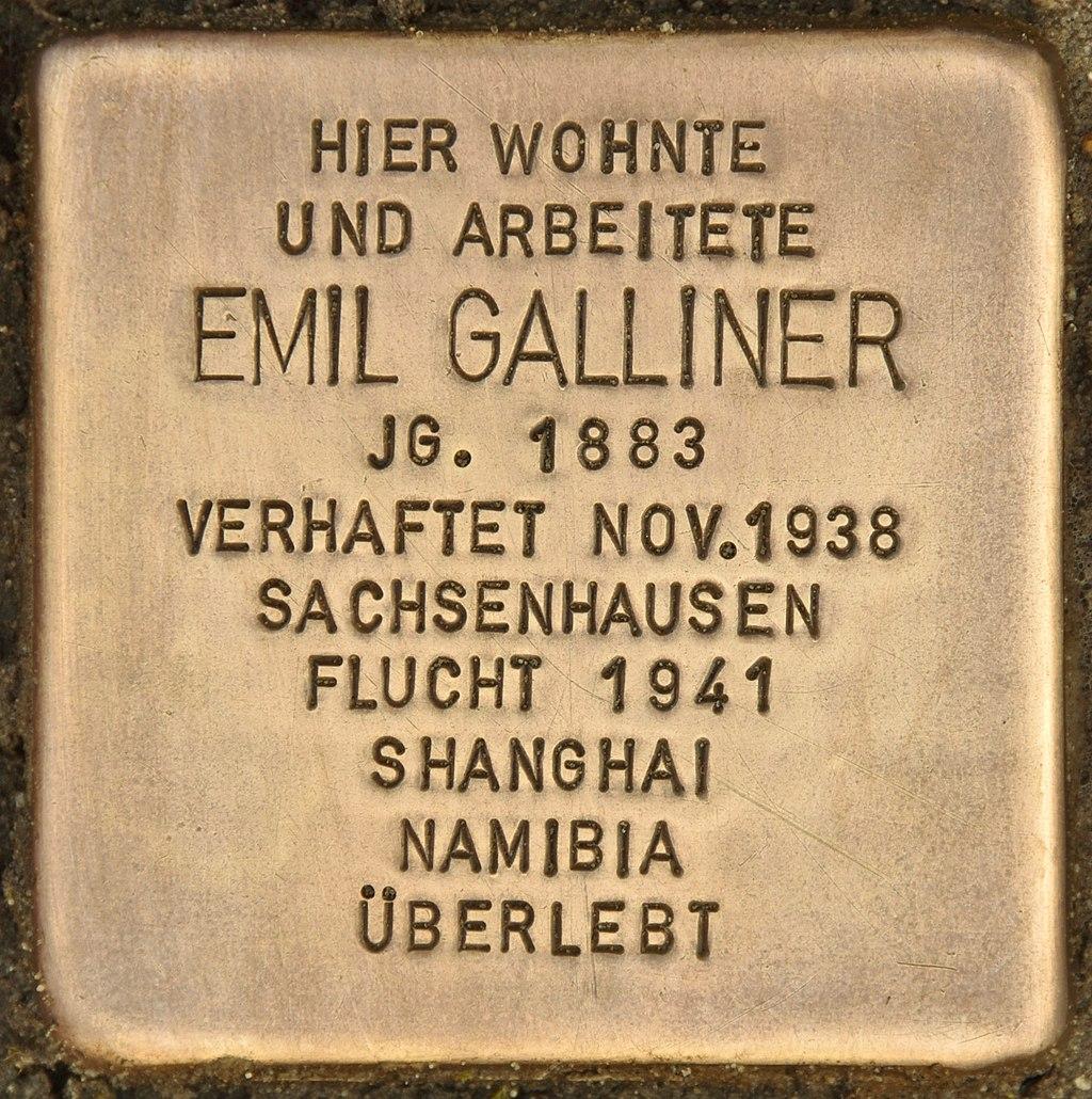 Stolperstein für Emil Galliner (Finsterwalde).jpg