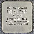 Stolperstein für Felix Hayum (Grevenmacher).jpg