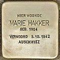 Stolperstein für Marie Hakker (Den Haag).jpg