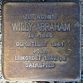 Stolpersteine MG Abraham Willy.jpg