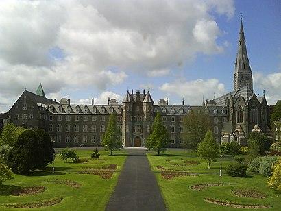 Come arrivare a National University Of Ireland Maynooth con i mezzi pubblici - Informazioni sul luogo