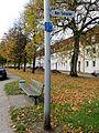 Straßenschild der Straße Am Sender in Flensburg, Bild 1.JPG