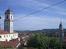Strambino Panorama dal Castello.JPG