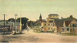 Downtown in 1908