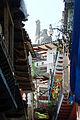 Street in Janitzio Mexico DSC02391 ed AD.JPG