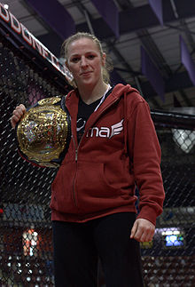 Strikeforce Women's Welterweight Champion, Sarah Kaufman.jpg