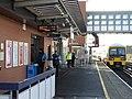 Strood station (2017) Platform 1 465193 leaves for Rochester 7584.JPG