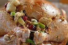 Stuffed turkey recipe