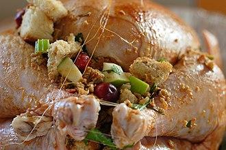 Stuffing - Stuffed turkey