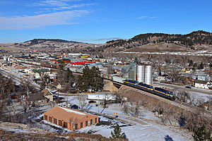 Sturgis, South Dakota - A view of Sturgis