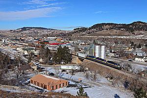 Sturgis, South Dakota - A view of Sturgis