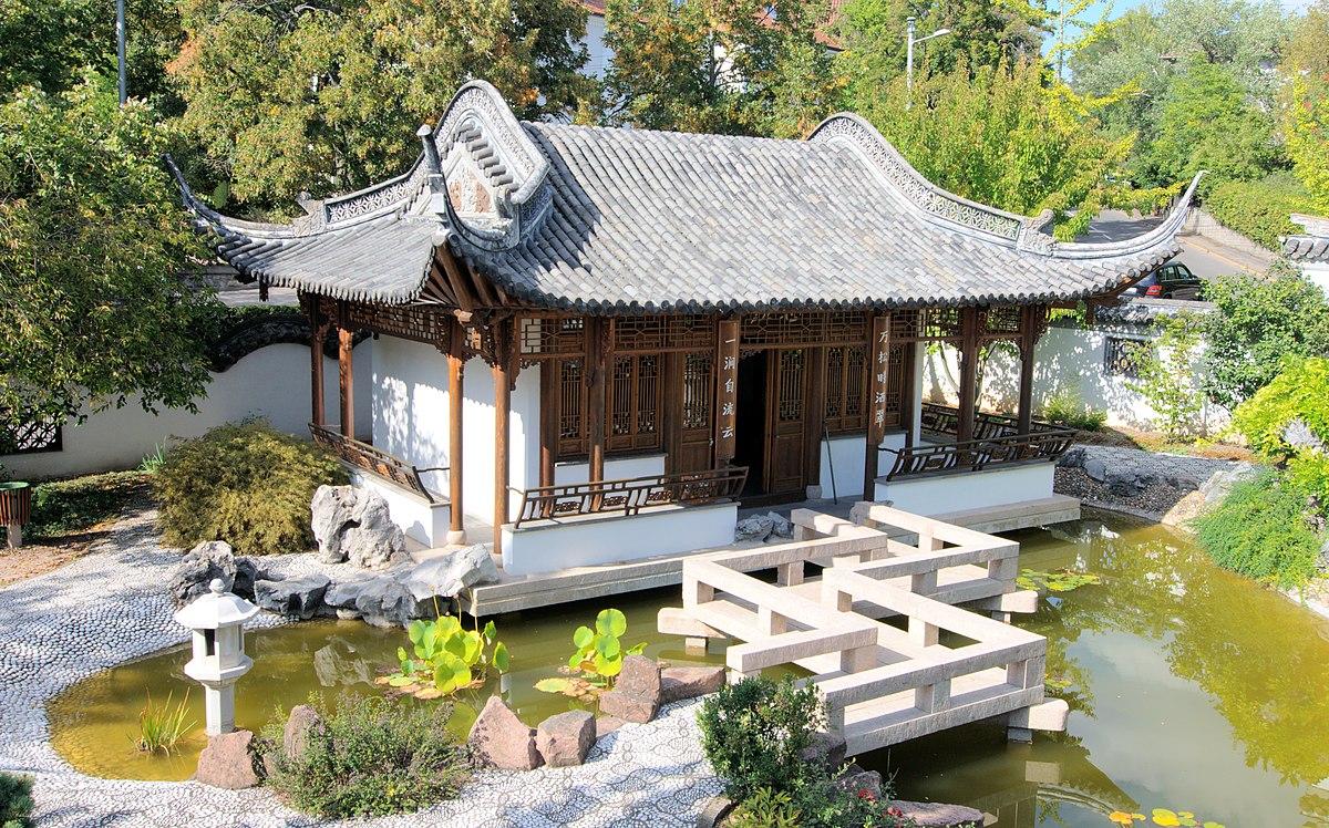 Qingyin garten wikipedia for Gartengestaltung quadratischer garten