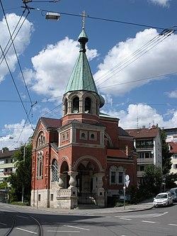 Stuttgart - Russische Kirche.JPG