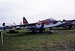 Sukhoi Su-25 Sukhoi T-8-15 (Su-25 prototype) Khodinka Air Force Museum Sep93 1 (17149987632).jpg