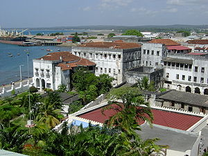 Oman - The Sultan's Palace in Zanzibar, which was once Oman's capital and residence of its Sultans