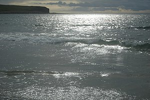 English: sunlight on water, Bay of Skaill Desp...