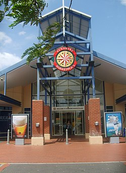 Sunshine Marketplace entrance in Sunshine, Victoria.jpg