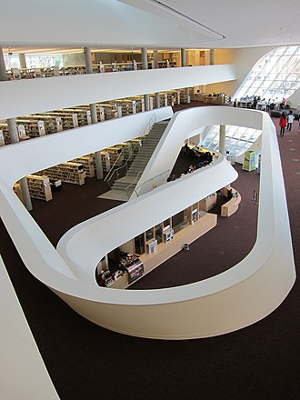 Whalley, Surrey - Inside of Surrey City Centre Library