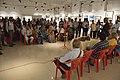 Susanta Banerjee Addresses - Group Exhibition Inauguration - PAD - Kolkata 2016-07-29 5264.JPG