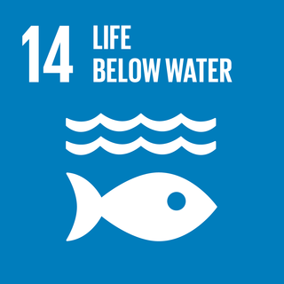 Sustainable Development Goal 14 The 14th of 17 Sustainable Development Goals to conserve life below water