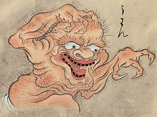 A disembodied voice from Japanese folklore