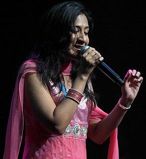 Shweta Mohan Indian singer