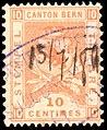 Switzerland Bern 1881 revenue 10c - 24aC 4-K.jpg