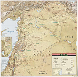 Geography of Syria - Wikipedia