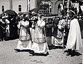 Szent István tér, Szent Jobb ünnepség a Szent István-templom előtt. A felvétel 1938. június 27.-én készült. Fortepan 100057.jpg