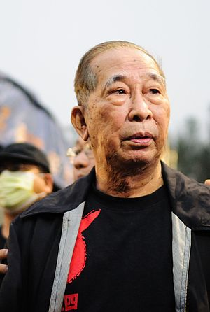 Szeto Wah - Szeto Wah at the 21st anniversary candlelight vigil in Causeway Bay, Hong Kong