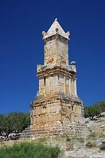 Libyco-Punic Mausoleum of Dougga mausoleum in Tunisia