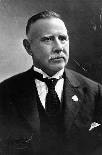 Shire of Widgee - Thomas Edward Betts, chairman (1915) of Widgee Shire
