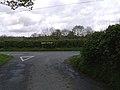 T junction near Llangammarch Wells - geograph.org.uk - 444101.jpg