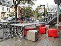 Tables, rue Saint-Denis.JPG