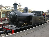 Taff Vale Railway No. 85 at Keighley (1570865272).jpg