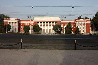 Supreme Assembly (Tajikistan) - Image: Tajik Parliament House, Dushanbe, Tajikistan