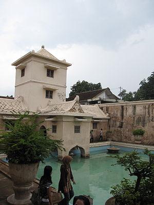 Taman Sari (Yogyakarta) - The Segaran lake area