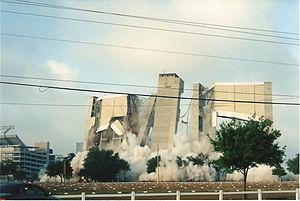 Tampa stadium Demolition