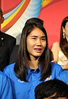 Taneekarn Dangda Thai footballer