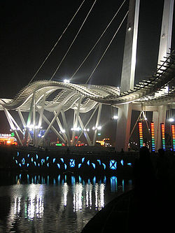 Tanggu at night, Tianjin, China.jpg