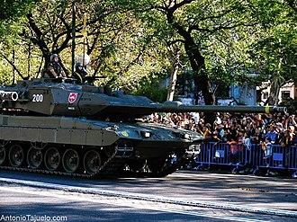 Fiesta Nacional de España - Image: Tanque del Ejército Español