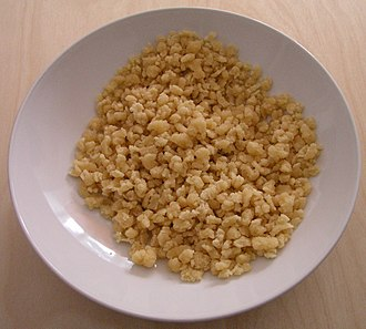 Egg barley - Dried homemade tarhonya