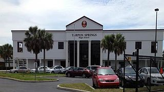 Tarpon Springs High School Public school in Tarpon Springs, Florida, United States