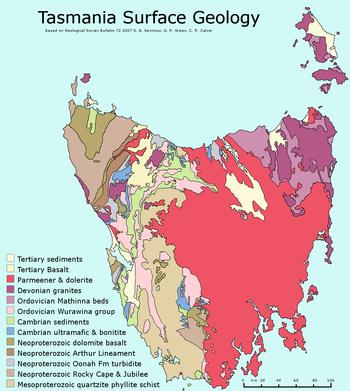 Variation Of Tasmanian Vegetation From East To West