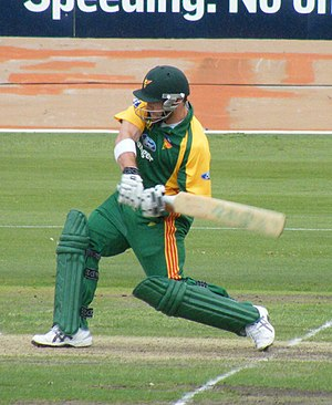 Travis Birt - Image: Tasmanian Cricketer Travis Birt NSW v Tasmania, Hurstville Oval. Saturday 29 November 2008