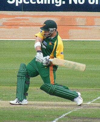 Travis Birt - Image: Tasmanian Cricketer Travis Birt NSW v Tasmania, Hurstville Oval. Saturday 29 November 2008