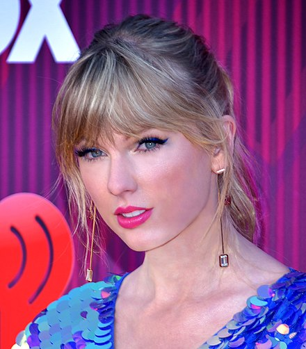 Taylor Swift was awarded the IFPI Global Recording Artist of 2019, making her the second artist (first woman) to win the award twice. Taylor Swift 2 - 2019 by Glenn Francis (cropped) 2.jpg