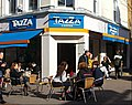 Tazza Coffee nicely lit up, SUTTON, Surrey, Greater London 05.jpg